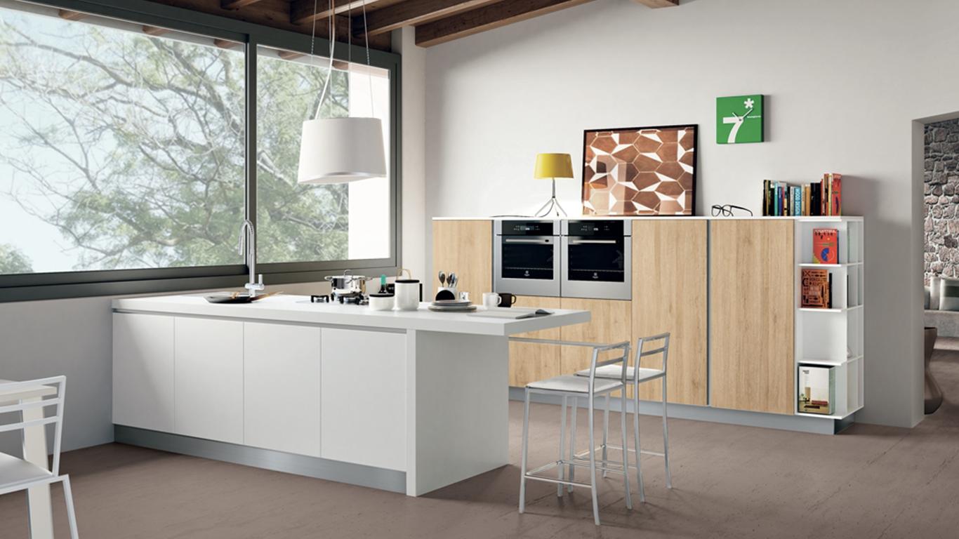 Idee per progettare la vostra cucina in mansarda | Creo ...