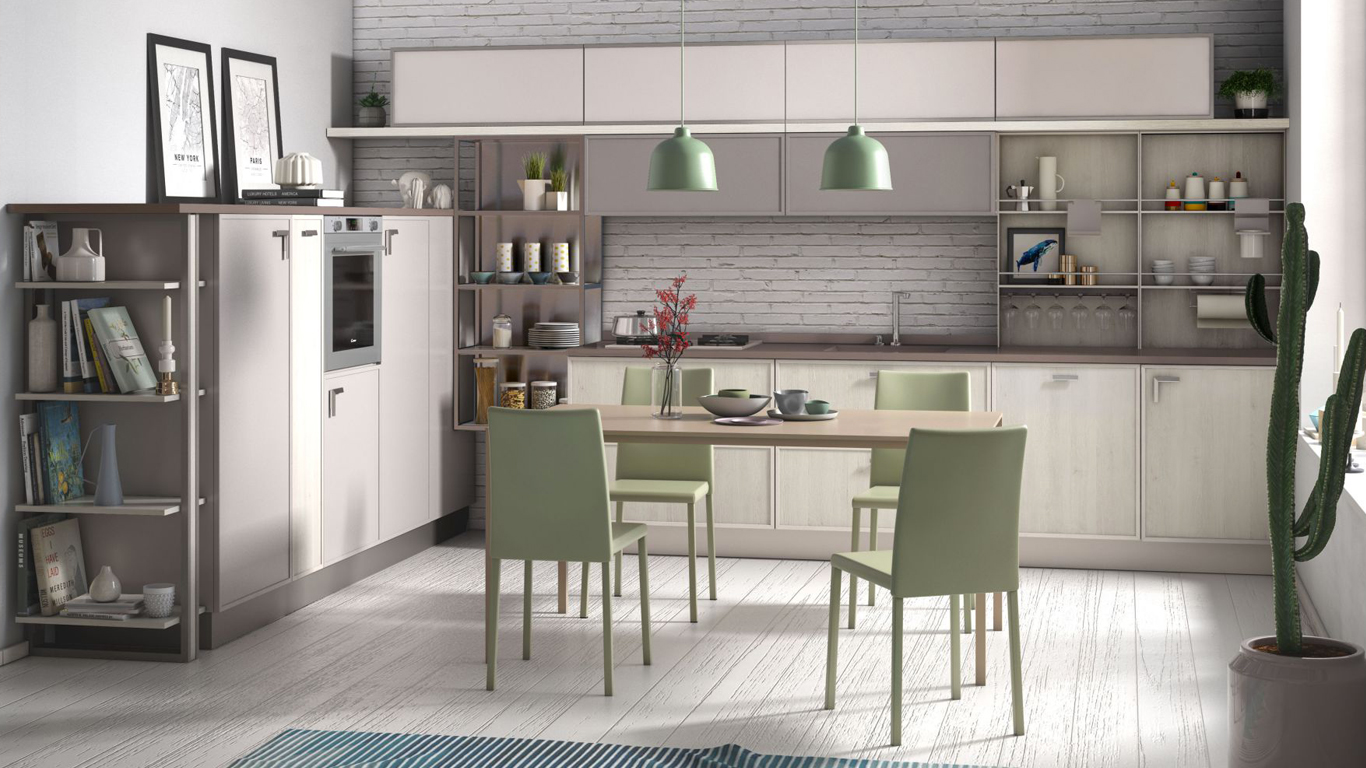 Acquista una cucina completa di elettrodomestici al Creo Store Milano