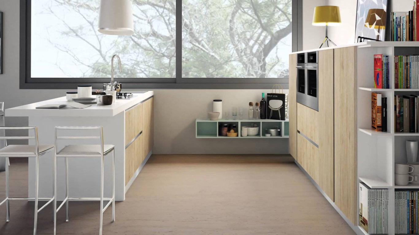 Come arredare una cucina senza pensili i consigli di creo - Profondita pensili cucina ...