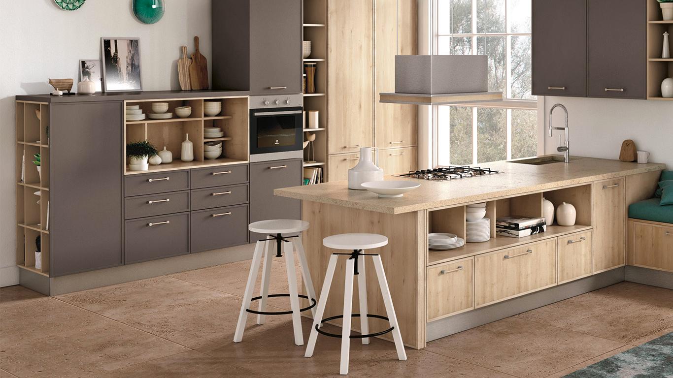 Arredare la cucina abitabile showroom cucine creo a milano - Cucina molecolare milano ...