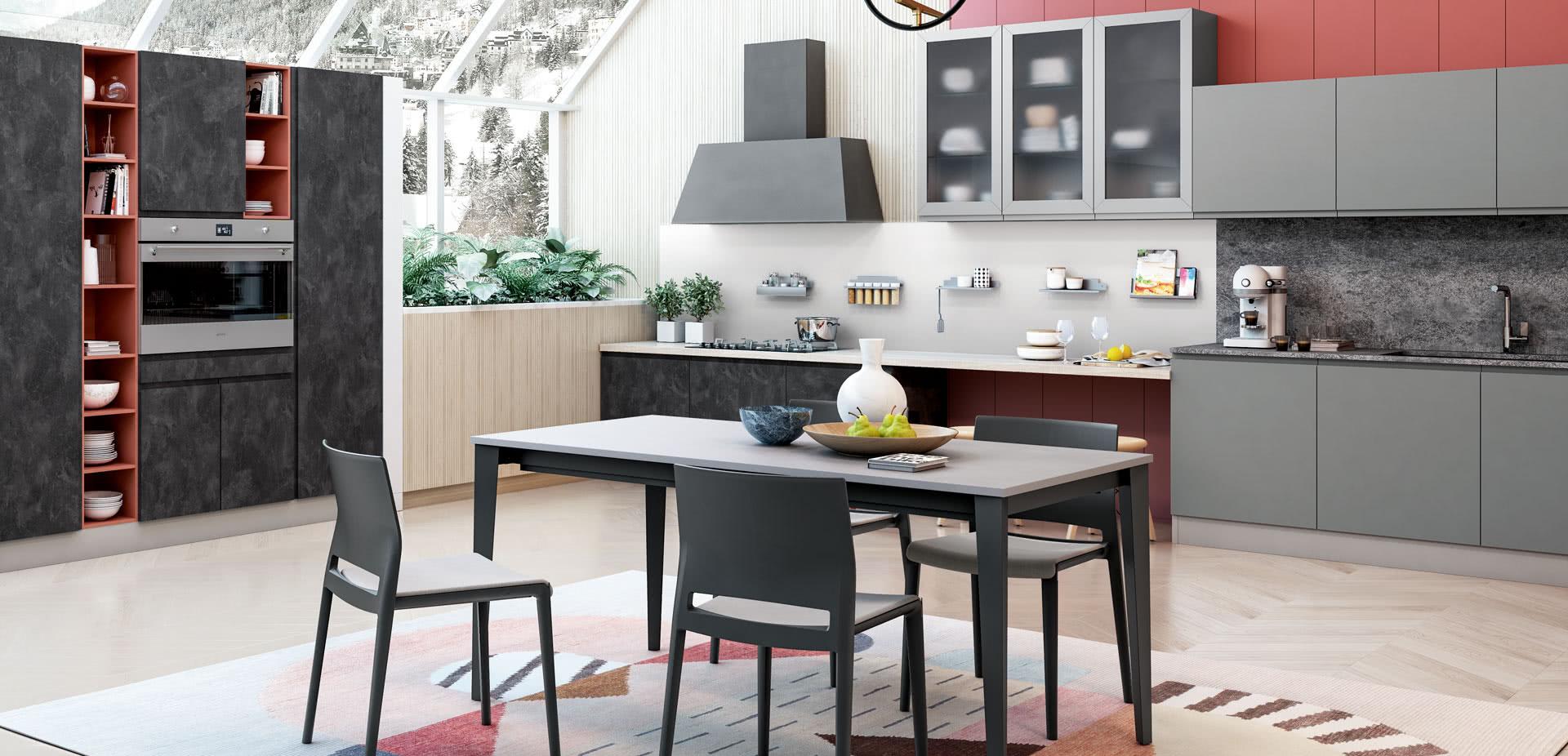 Cucine moderne milano, la proposta variegata firmata Creo ...