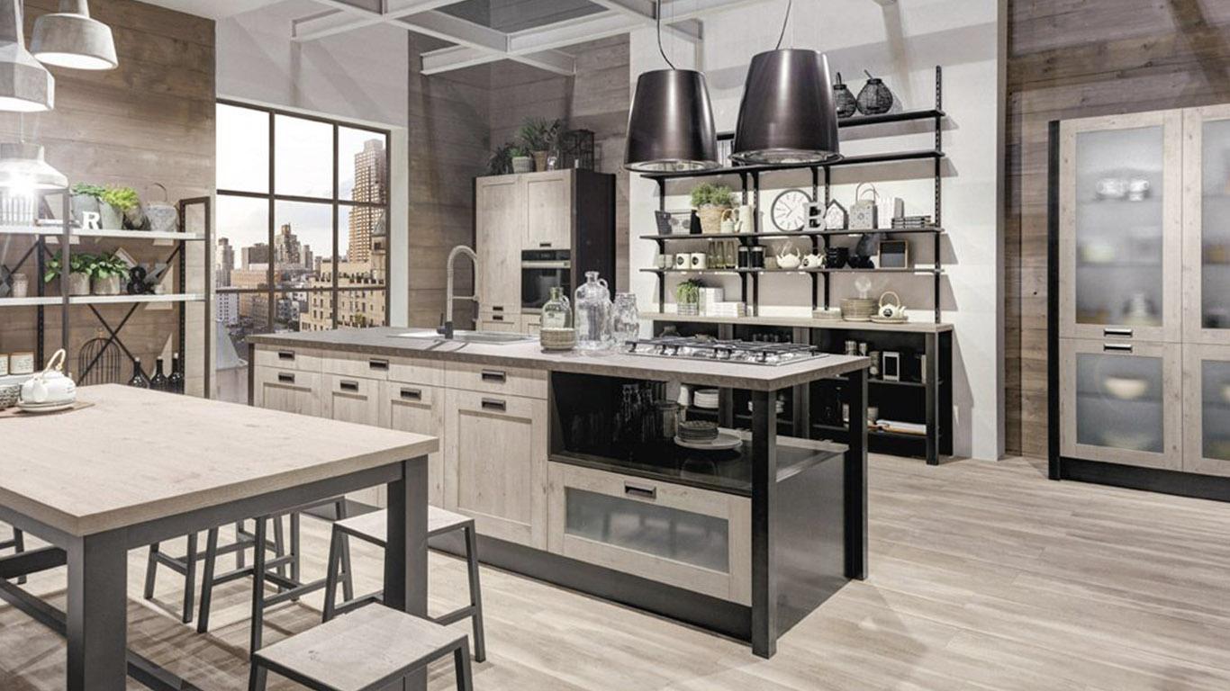 Cucine con isola archivi creo store milano showroom - Cucina all americana ...