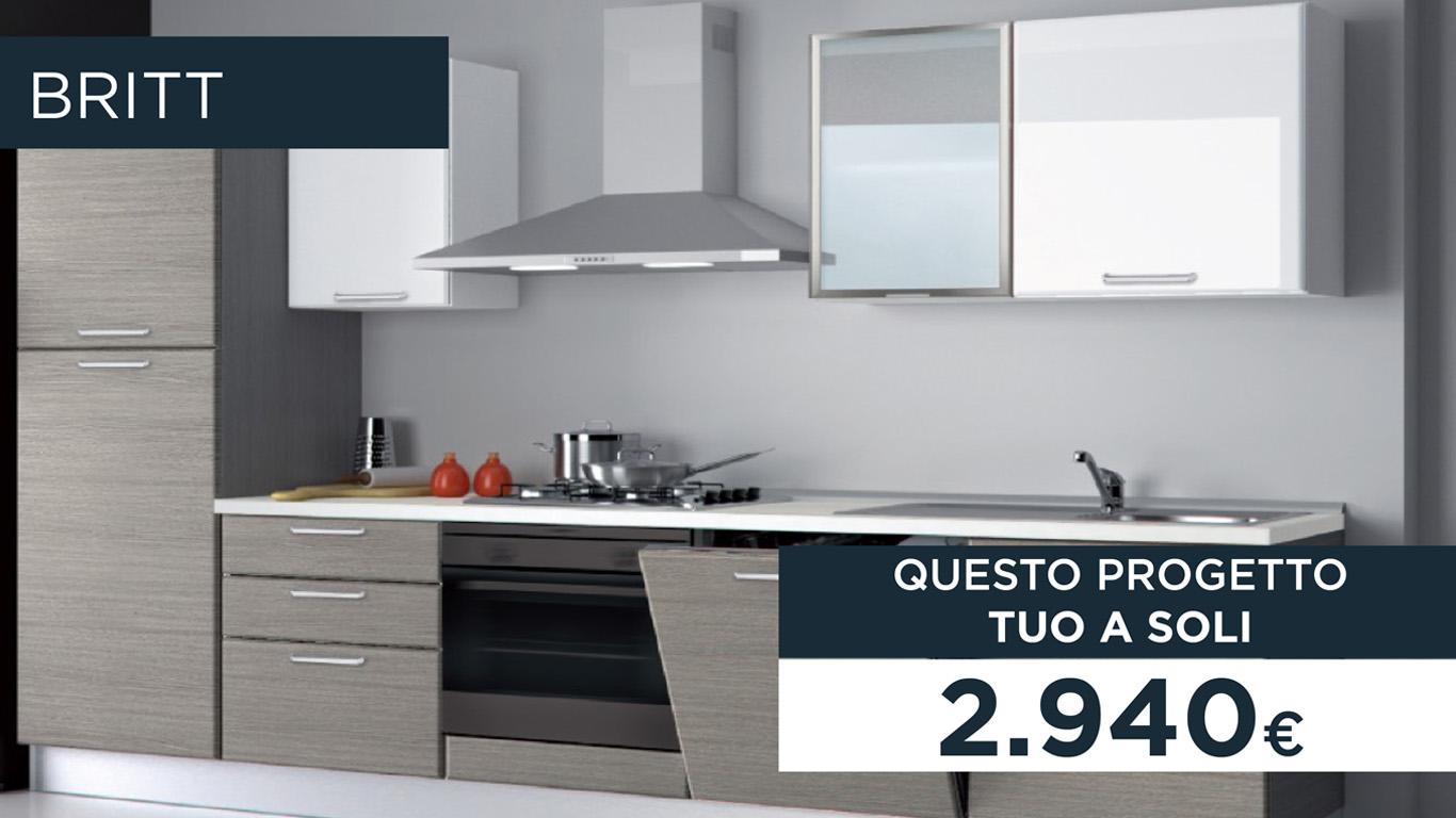 Cucine Componibili In Offerta Milano.Cucine In Promozione A Milano Al Creo Store Milano