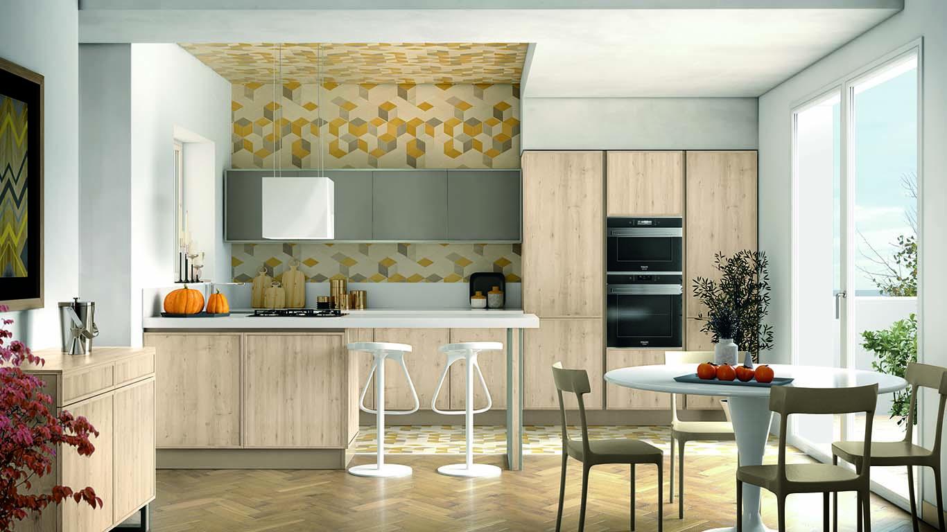 Come arredare una cucina lunga, i consigli di Creo Store Milano ...