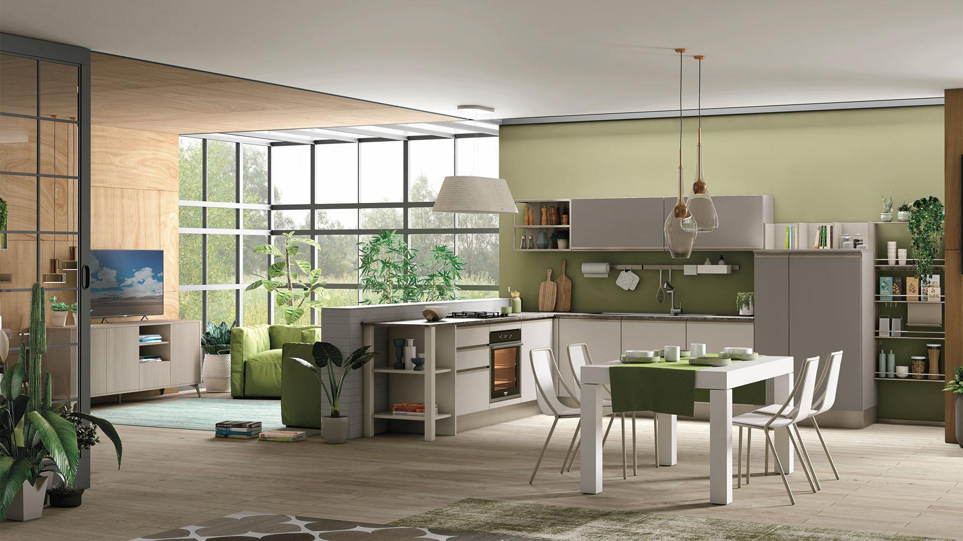 Creo Store Milano vi indica come scegliere una cucina verde - Creo ...