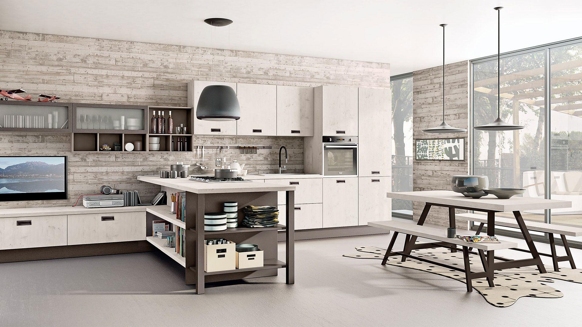 Cucine moderne con isola da Creo Store Milano | Creo Store ...