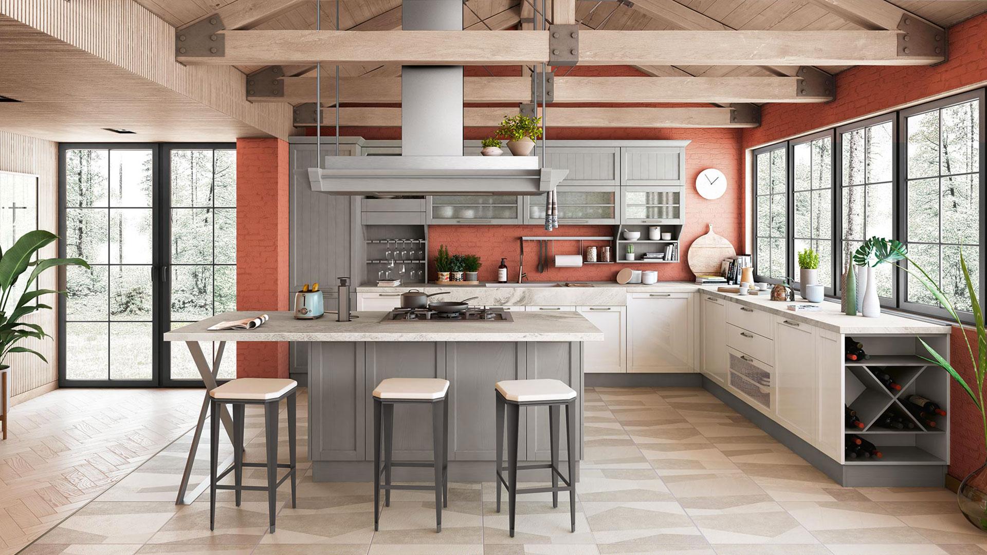 Cucine Creo Lube Opinioni lo stile romantico della nuova cucina contempo | creo store