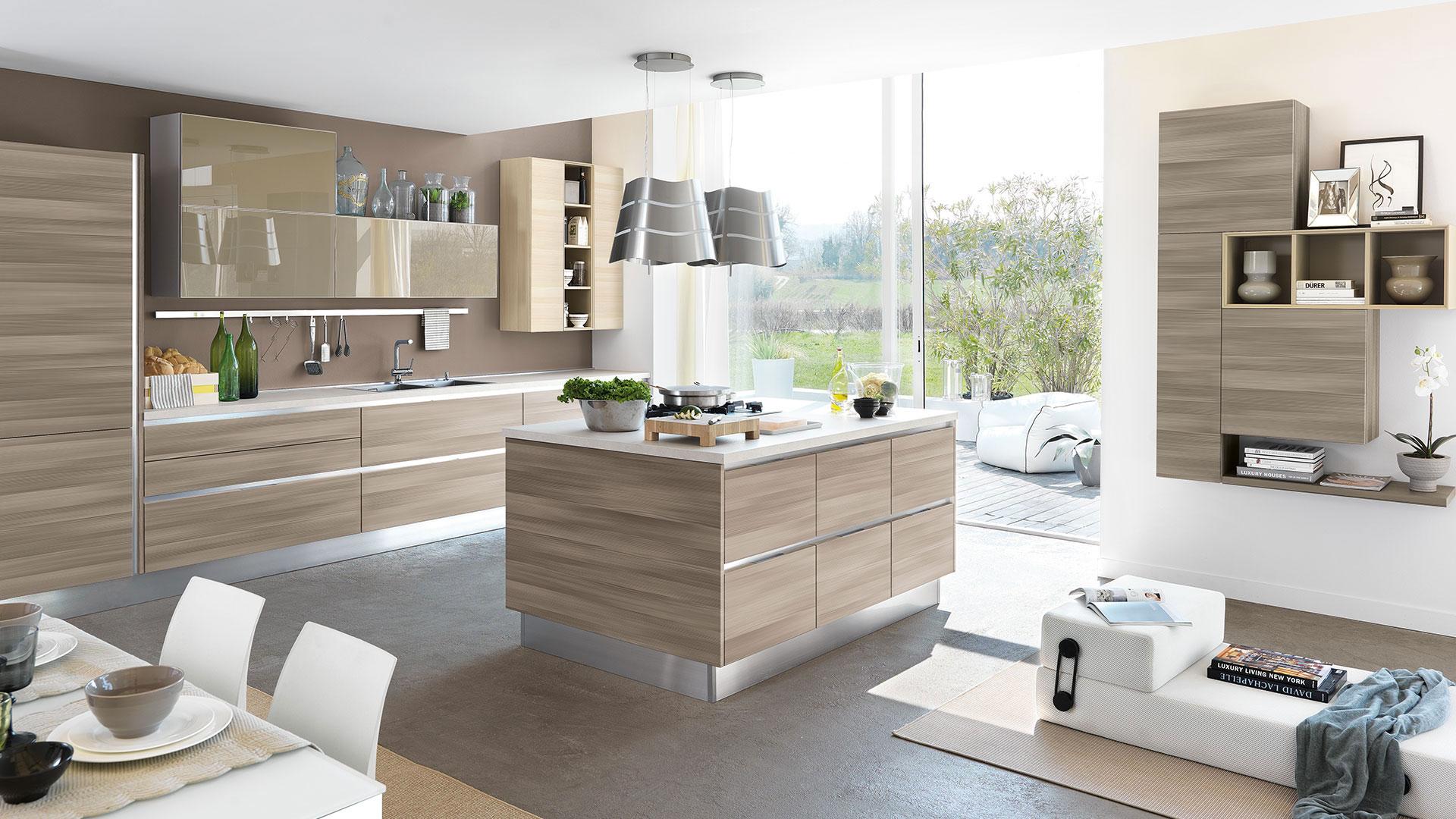 Alcuni consigli su come arredare una cucina a vista - Creo ...