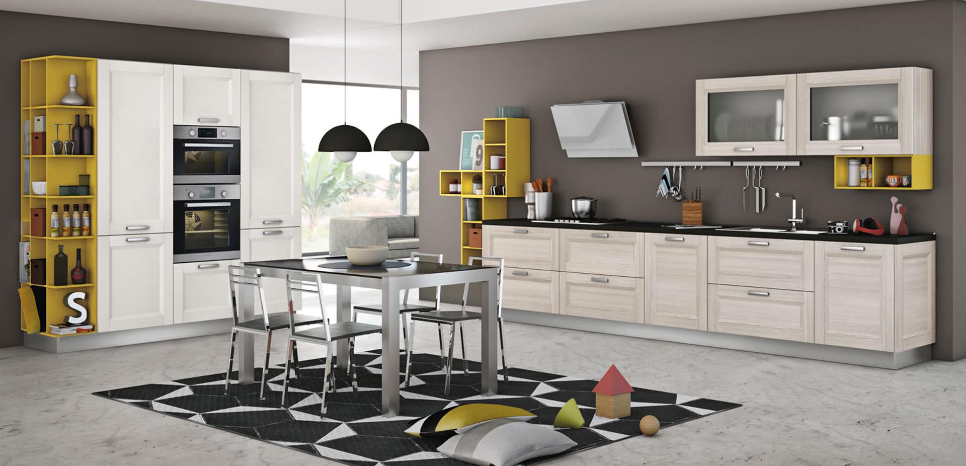 Colori Per Cucina Rustica colori cucina rustica, 5 tocchi per ottenere un look moderno